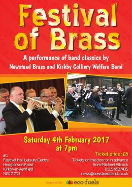 Brass Unites for Festival in the Festival Hall