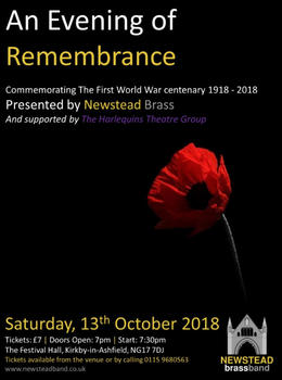 Newstead Brass set to Remember 100 Years